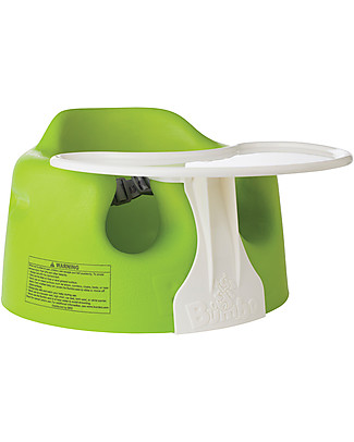 Bumbo Bumbo Baby Floor Seat with Tray - Green(from 3 months old) Chairs
