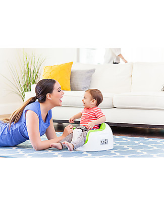 Bumbo Multi Seat with Foam Cushion and Tray, Green – From 6 months to 3 years! Booster Seats