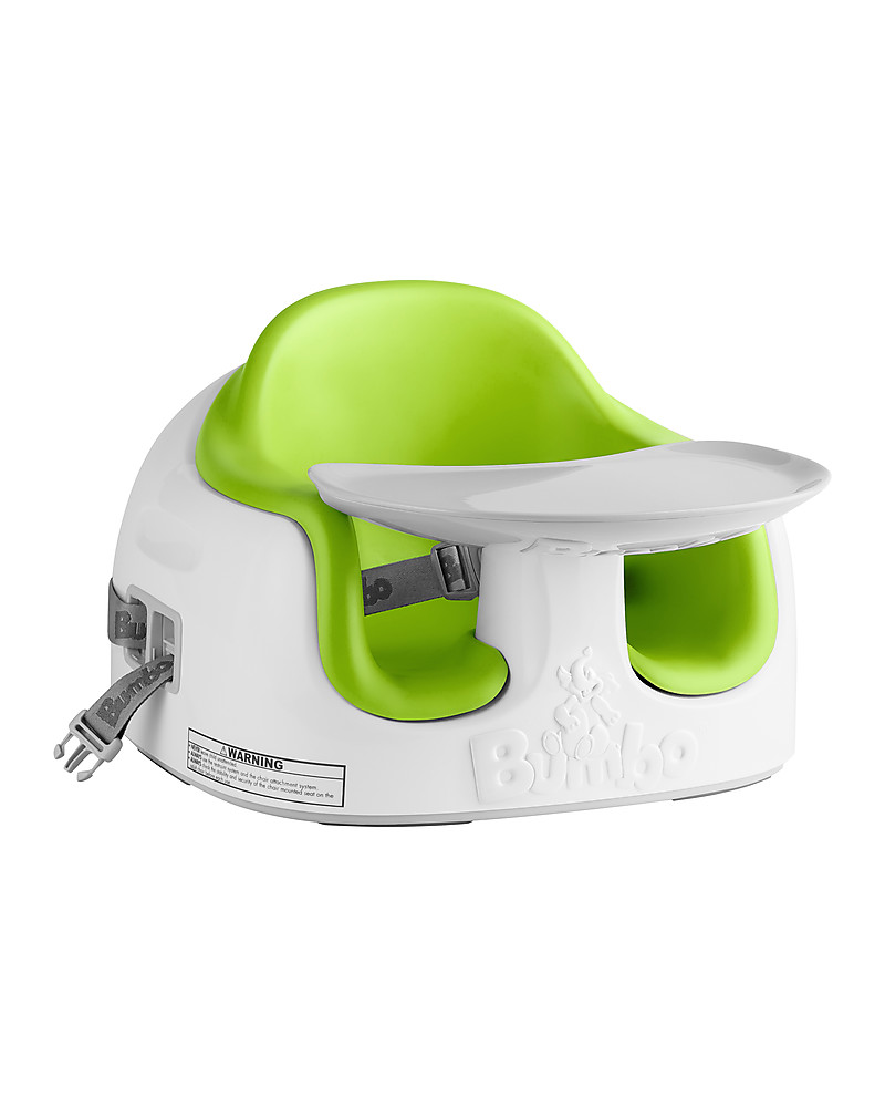 Doomoo Zitzak Lime.Bumbo Multi Seat With Foam Cushion And Tray Green From 6 Months