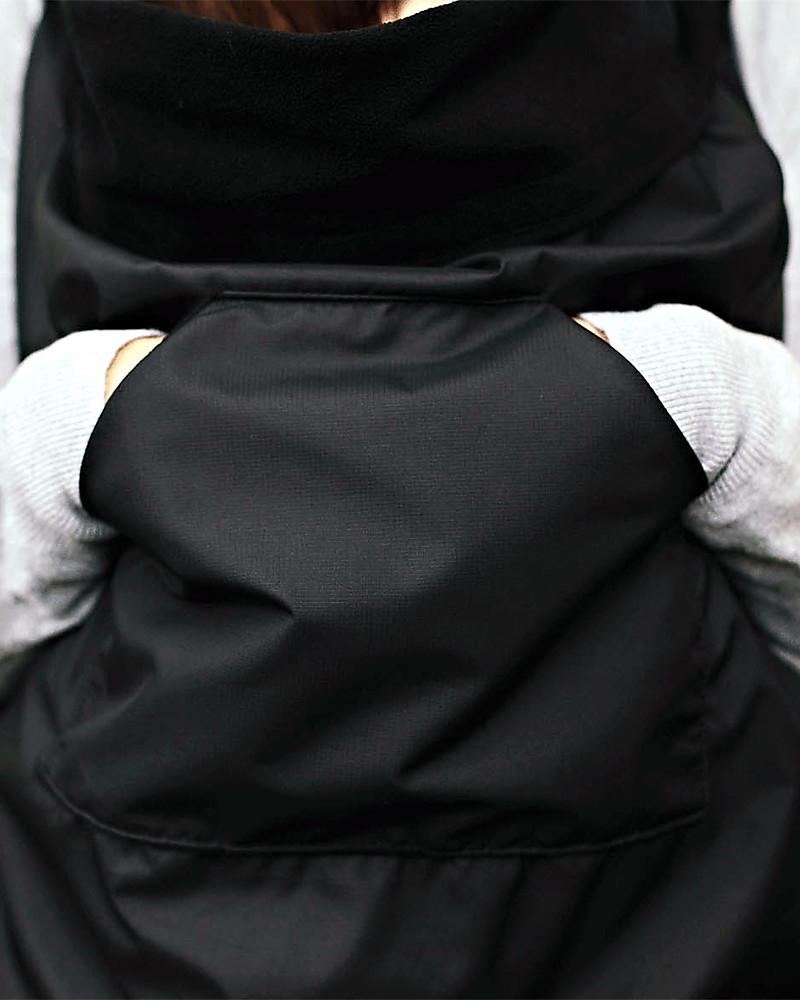 BundleBean Babywearing Fleece Lined All Weather Cover