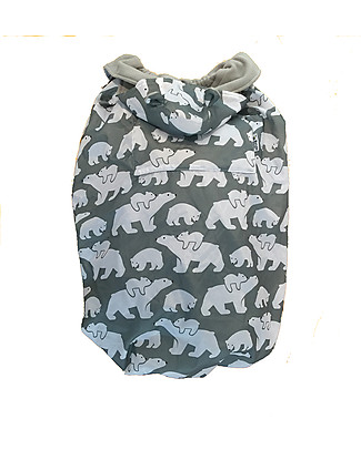 BundleBean Babywearing Fleece-lined all-weather cover - Polar Bears Baby Carriers