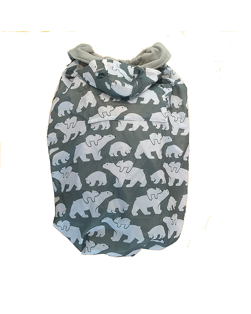 a7c3dee3d BundleBean Babywearing Fleece-lined all-weather cover - Polar Bears ...