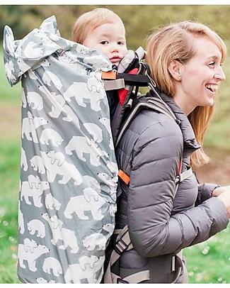 BundleBean Babywearing lightweight raincover - Polar Bears Baby Slings