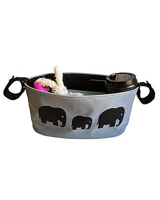 BundleBean Universal Buggy Organiser - Elephant Stroller Accessories