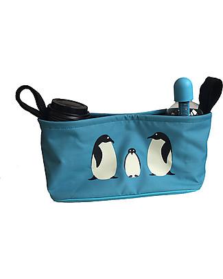 BundleBean Universal Buggy Organiser - Penguin Stroller Accessories