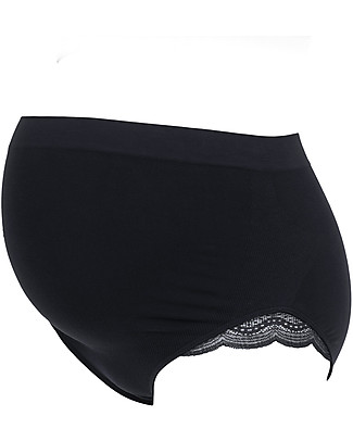 Cache Coeur Maternity Shorts Serenity, Black - Soft bamboo fabric! Briefs