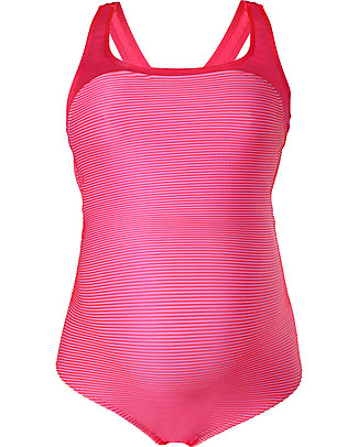 Cache Coeur Yana, Maternity Swimsuit – Vivid Pink, Perfect for the swimming pool! Swimsuits