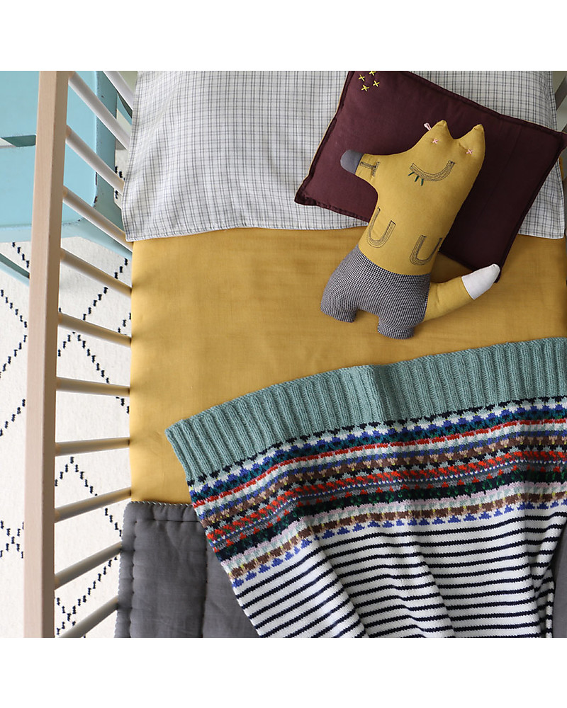 Mr Fox Cuscini.Camomile London Mr Fox Cushion Golden 13 X 29 Cm The Perfect