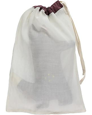 Camomile London Mr. Fox Cushion, Wine – 13 x 29 cm – The perfect gift idea! Cushions