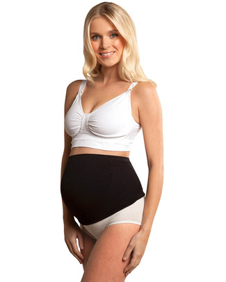 Carriwell Seamless Maternity Support Band - Black (relieves backache) Support Belts