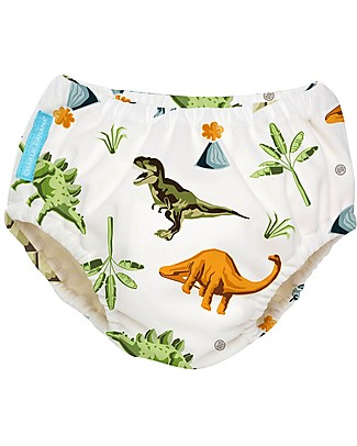310ea44c2a Charlie Banana 2-in-1 Swim Diaper & Training Pant, Dinosaurs - Washable
