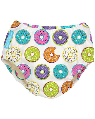 Charlie Banana Swim Diaper, Donuts - In Tencel, Eco-friendly and Biodegradable! Swim Diaper