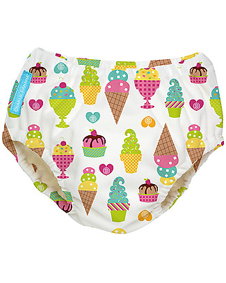 Charlie Banana Swim Diaper, Ice Creams - In Tencel, Eco-friendly and Biodegradable! Swim Diaper