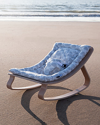Charlie Crane Baby Rocker LEVO in Beech - Moumout Cloud  -Timeless and Eco-Friendly Design! Bouncers