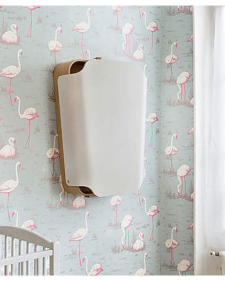 Charlie Crane Changing Table NOGA + Pudi Changing MAT - Gentle White Changing Tables