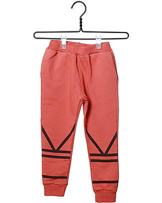 Cherry Papaya Long Fleece Pants - 100% organic cotton Trousers