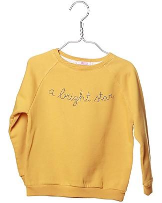 Cherry Papaya Long Sleeves Raglan Sweatshirt, A Bright Star - 100% organic cotton Sweatshirts