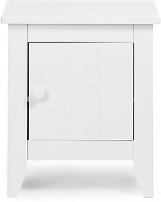 Childhome Flemish Nightstand, White - Great for children and adults! Dressers