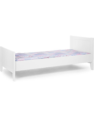 Childhome Flemish Single Bed, White – 90 x 200 cm  Single Bed