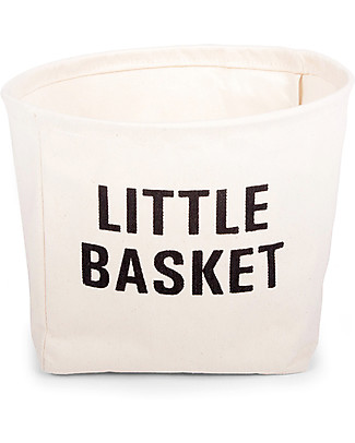 Childhome Little Basket, 100% cotton - 23 cm diameter Toy Storage Boxes