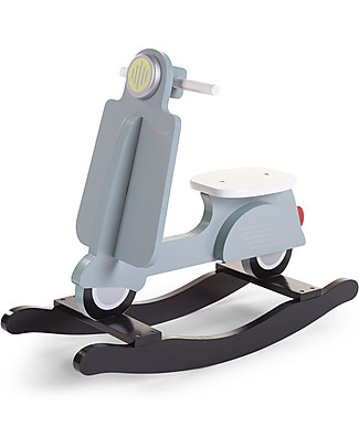 Childhome Rocking Scooter, Mint Blue – Design and fun, from 2 years up! Rides On