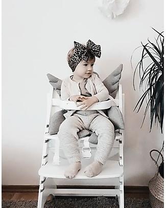 Childwood Angel Universal Seat Cushion, Grey - 100% cotton jersey High Chairs
