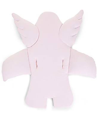 Childwood Angel Universal Seat Cushion, Old Pink - 100% cotton jersey High Chairs