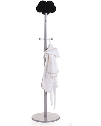 Childwood Cloud Coatstand, Grey – With cloud shaped chalkboard! Hangers & Hooks
