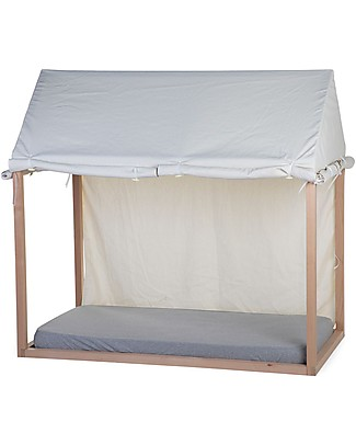 Childwood Cover for Childwood Tipi Bed Frame House, White - 70 x 140 cm Playhouses