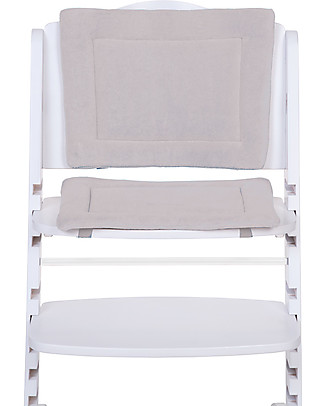 Childwood Cushions Tricot for Evolutive High Chair Lambda 2 and 3, Mouse Grey - 2-pieces set High Chairs