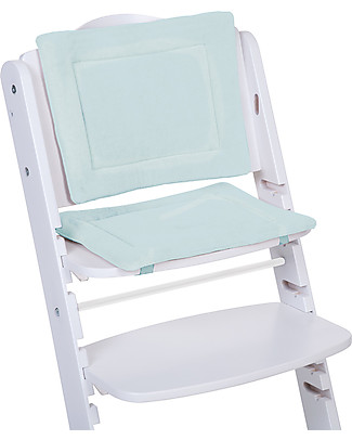 Childwood Cushions Tricot for Evolutive High Chair Lambda 2, Mint Blue – 2-pieces set High Chairs