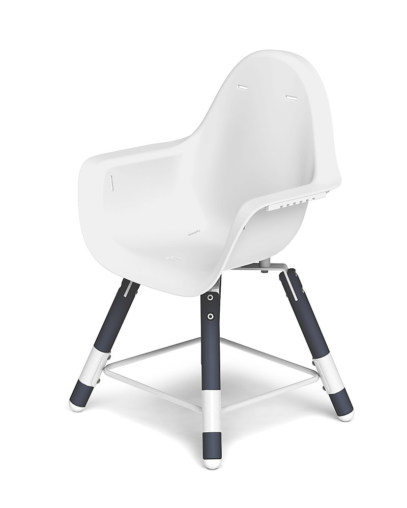 Childwood Evolu 2 Chair, Evolutive High Chair 3 In 1, Navy Blue