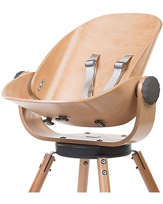 Childwood Evolu Newborn Seat, Natural/Anthracite - For Evolu and Evolu ONE.80° High Chair High Chairs