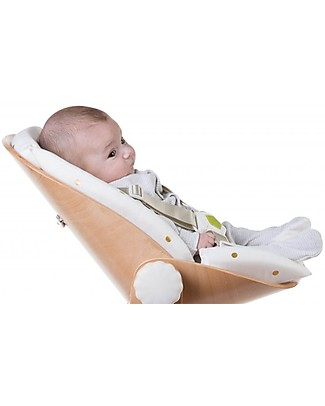 Childwood Evolu Newborn Seat, Natural/White - For Evolu and Evolu ONE.80° High Chair High Chairs