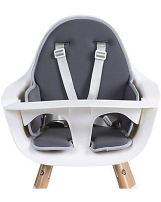 Childwood Evolu Seat Cushion, Dark Grey - Soft and Water Repellant! High Chairs