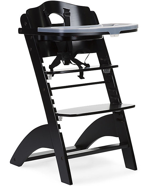 Childwood Evolutive Wooden High Chair Lambda 2 Black