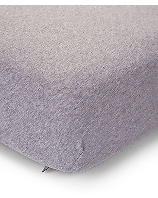 Childwood Fitted Sheet for Bed 70x140 cm - Melange Grey Bed Sheets