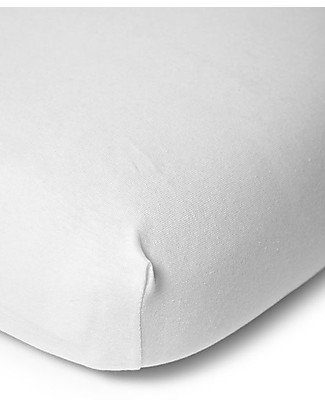 Childwood Fitted Sheet for Teenager Bed 90x200 cm - White Bed Sheets