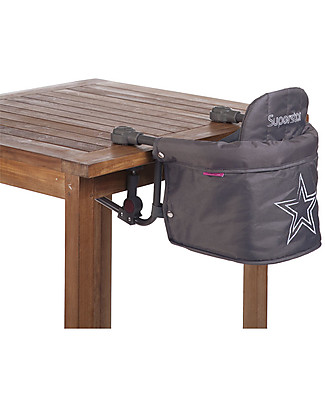 Childwood Foldable Table Hanger Superstar, Anthracite High Chairs