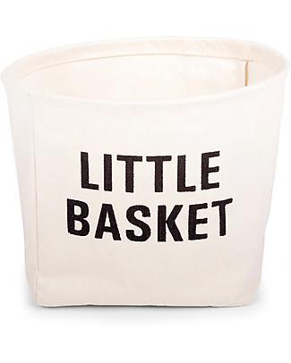 Childwood Little Basket, 100% cotton - 23 cm diameter Toy Storage Boxes