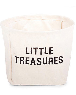 Childwood Little Treasures, 100% cotton - 23 cm diameter Toy Storage Boxes