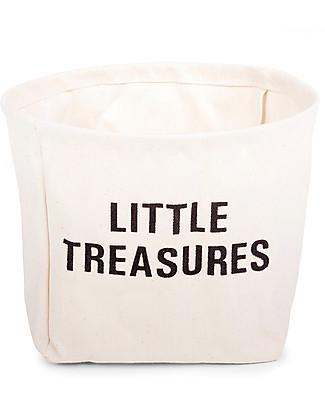 Childwood Little Treasures, 100% cotton - 23 cm diameter Toy Storage Boxes