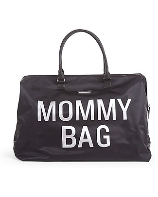 Childwood Mommy Bag, Diaper Bag 55 x 30 x 30 cm, Black - Includes foldable changing mat! Diaper Changing Bags & Accessories
