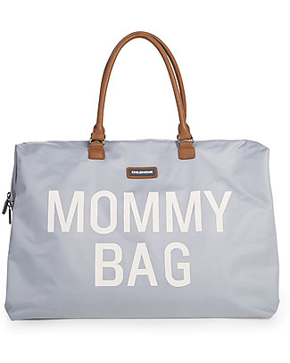 Childwood Mommy Bag, Diaper Bag 55 x 30 x 30 cm, Grey - Includes foldable changing mat! Diaper Changing Bags & Accessories