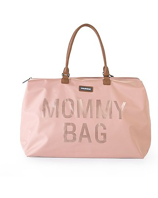 Childwood Mommy Bag, Diaper Bag 55 x 30 x 30 cm, Pink - Includes foldable changing mat! Diaper Changing Bags & Accessories