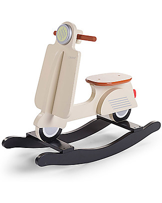 Childwood OUTLET - Rocking Scooter, Cream - Design and fun, from 2 years up! Rides On
