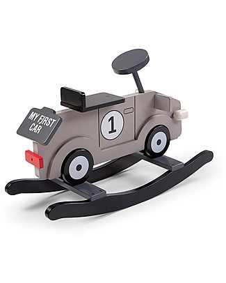 Childwood Rocking My First Car, Grey - Design and fun, from 1 year up! Rides On