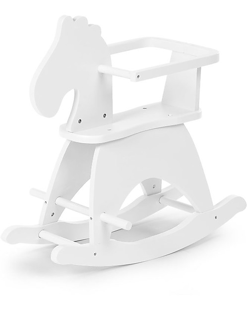 Childwood Rocking White Horse - Design and fun, from 1 year