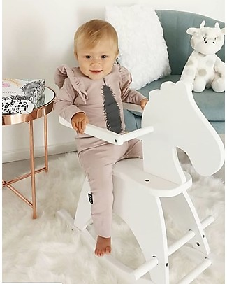 Childwood Rocking White Horse - Design and fun, from 1 year up! Rides On