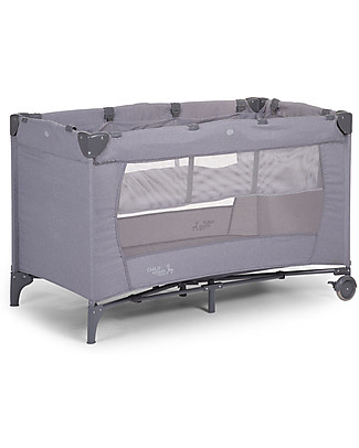 Childwood Travel Cot, Light Grey - 120 x 60 cm Travel Cots